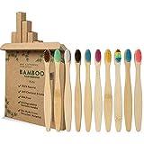 GeekerChip Cepillos de Dientes de Bambú para...