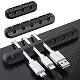 SOULWIT® 3 Pcs Autoadhesivo Organizador de Cable,...