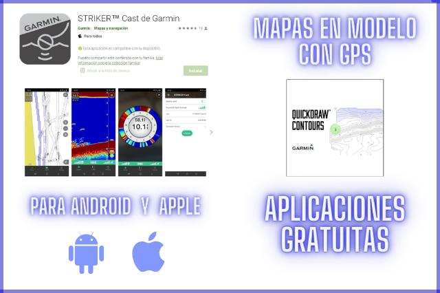 aplicaciones y mapas gratuitos para striker cast