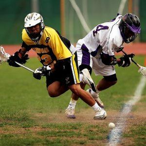 Juego deportivo Lacrosse