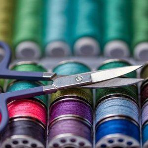 Organizador de hilos de coser